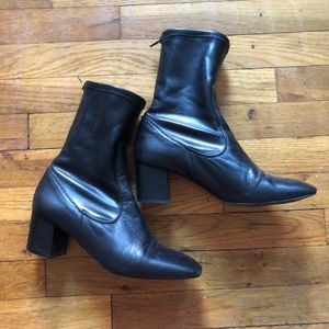 ✨TOPSHOP Monkey Skinny Ankle Boots Sz9